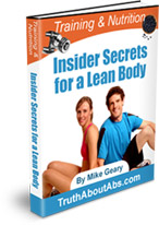 training and nutrition secrets ebook