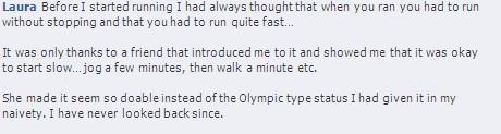 beginner jogging
