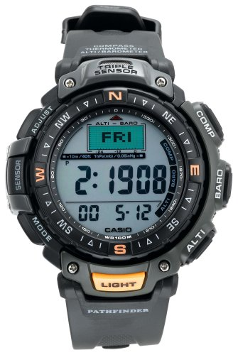 casio pathfinder gps running watch