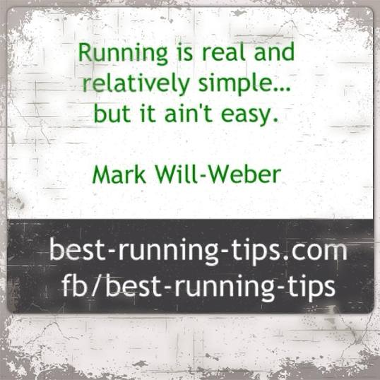 running quote -                         running is simple...