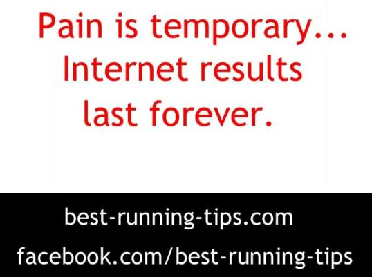 pain is temporary...