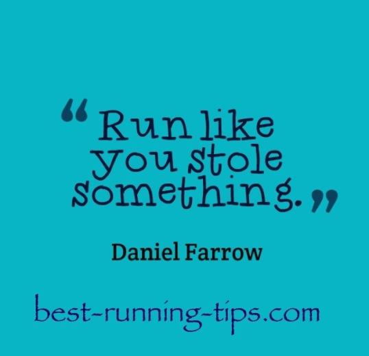 daniel farrow running quote