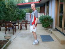 Running Stretches Calf Raises