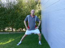 Running Stretches Groin Stretching