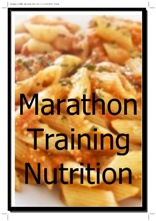 marathon training nutrition