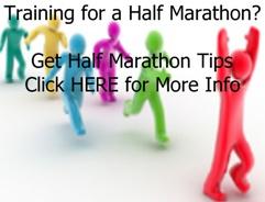 training for a half marathon ad