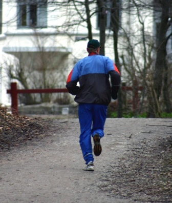 Jogger Increasing Mileage Safely