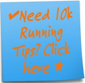 10k running tips ad