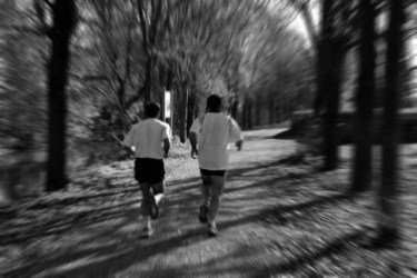 black and white running picture, best running tips