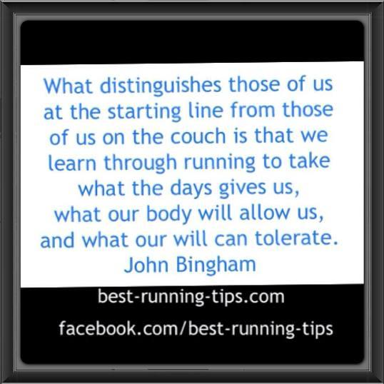 running quote john                         bingham