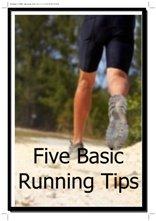 five basic running tips