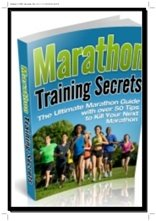 marathon training secrets
