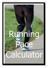 running pace calculator
